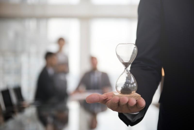 gerir o tempo durante o trabalho