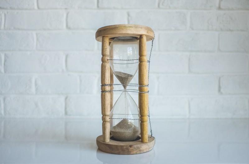 ter tempo é importante
