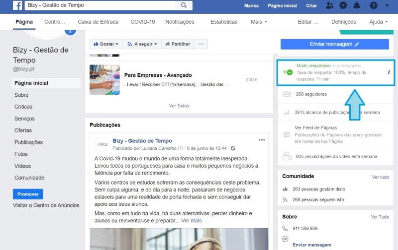 icon mensagens facebook