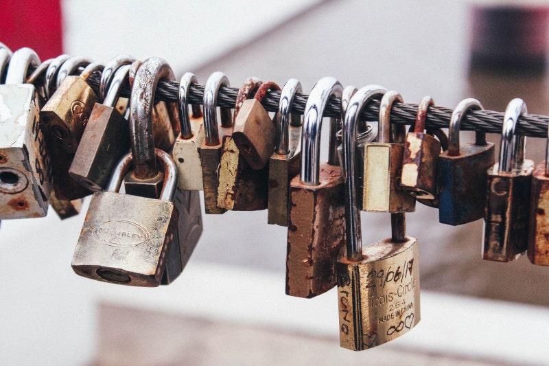proteger palavras-passe de clientes