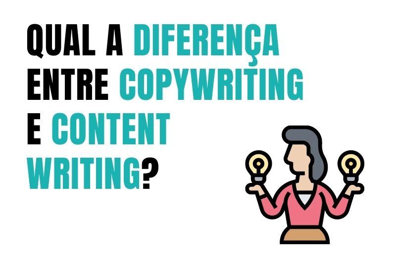 diferença entre copywriting e content writing